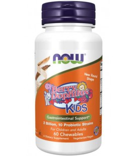 NOW FOODS BERRYDOPHILLUS KIDS 60 Tabletek do ssania