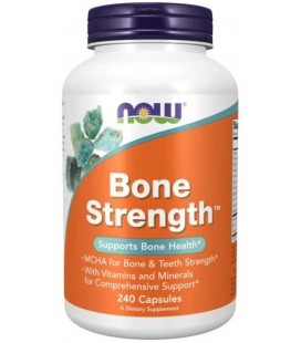 NOW FOODS BONE STRENGTH 240 KAPS