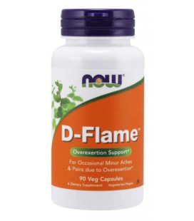 NOW FOODS D-FLAME 90 Kaps