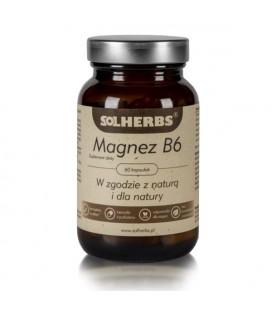 SOLHERBS Magnez + B6 60Kapsułek