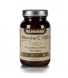 SOLHERBS Witamina C 1000 w proszku 125porcji