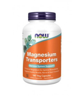 NOW FOODS MAGNESIUM TRANSPORTERS 180 Kaps