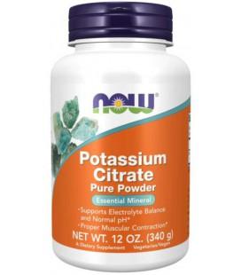 NOW FOODS POTASSIUM CITRATE Cytrynian Potasu 340g