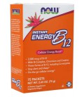 NOW B-12 Instant Energy Packets 75/BOX