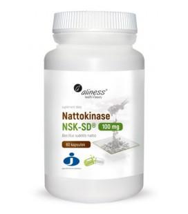 Aliness Nattokinase NSK-SD 100mg 60 VEGE kapsułek