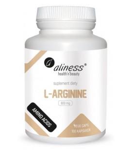 Aliness L-Arginina 800mg 100 VEGE kapsułek