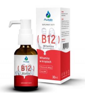 Aliness Avitale Witamina B12 200ug Olive 30ml