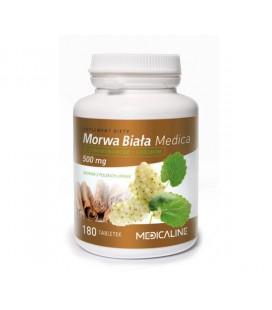 Medicaline Morwa Biała 500mg 180 Tabletek