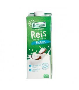 NATUMI Napój Ryżowo - Kokosowy bez Cukru BIO 1L