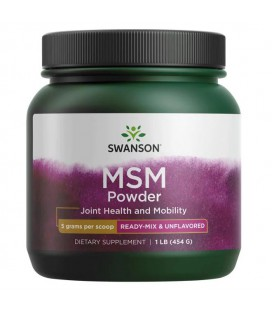 Swanson MSM Powder 454g