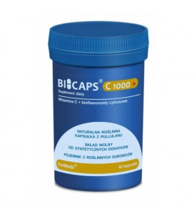 FORMEDS Biocaps Witamina C+ 1000mg 60 kapsułek