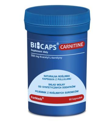 FORMEDS Biocaps Carnitine L-karnityna 60 kapsułek