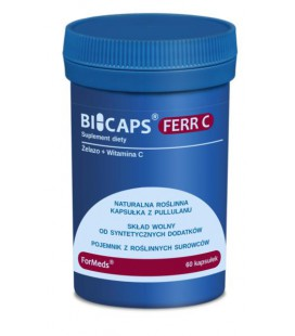 FORMEDS Biocaps Ferr C Żelazo 60 kapsułek