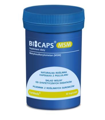 FORMEDS Biocaps MSM siarka organiczna 60 kapsułek
