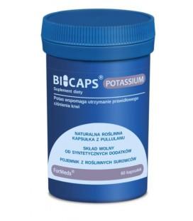 FORMEDS Biocaps Potassium Potas 60 kapsułek