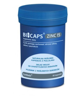 FORMEDS Biocaps Zinc Cynk 15 60 kapsułek