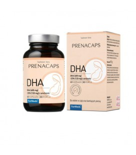 FORMEDS Prenacaps DHA kwasy omega 3 60 kapsułek