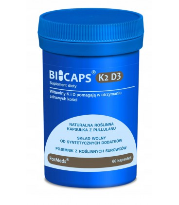 FORMEDS Biocaps K2 D3 - 60kaps