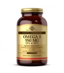 Solgar Potrójna Siła Omega-3 950 mg 100 Softgels
