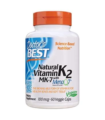 Doctor's Best Naturalna Witamina K2 MK7 MenaQ7 60vcap