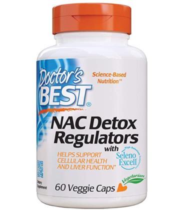 Doctor's Best NAC Detox Regulator SelenoExcell 60vcaps