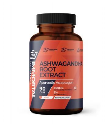 Immortal Ashwagandha 500mg Extract 90 caps.