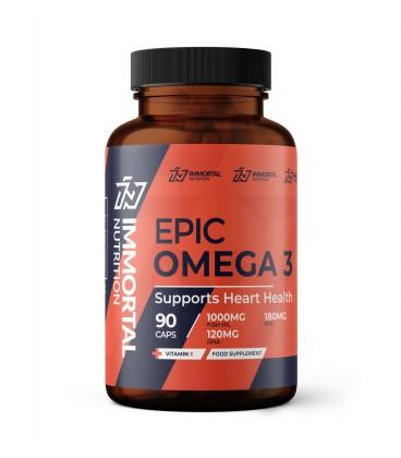 Immortal Epic Omega 3 1000mg 90caps