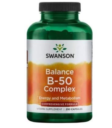 Swanson Balance B-50 Complex 250caps