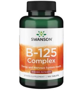 Swanson Vitamin B-125 Complex 100tab