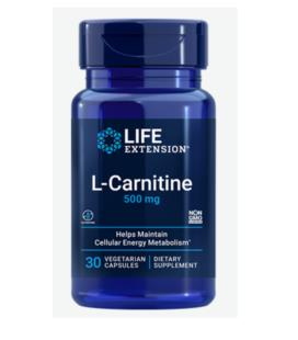 Life Extension L-carnitine 500mg 30vcaps