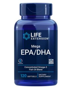 Life Extension Mega EPA/DHA 120soft