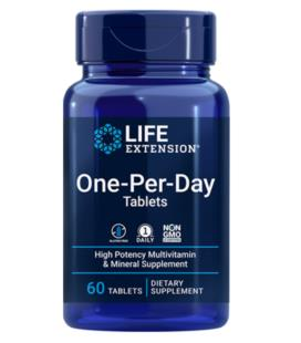 Life Extension One-Per-Day Tablets 60tabs