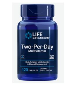 Life Extension Two-Per-Day Capsules 120caps