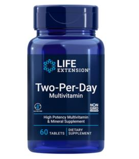 Life Extension Two-Per-Day Tablets 60tabs