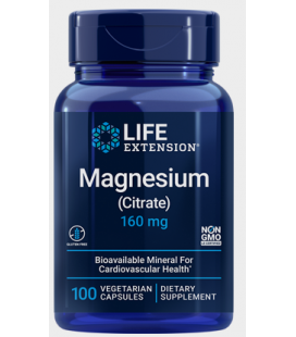 Life Extension Magnesium Citrate 160mg 100vcaps