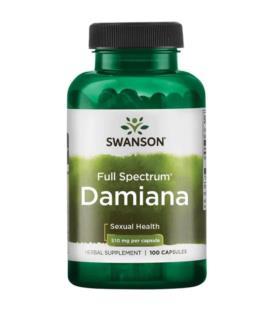 Swanson Damiana 510mg 100caps