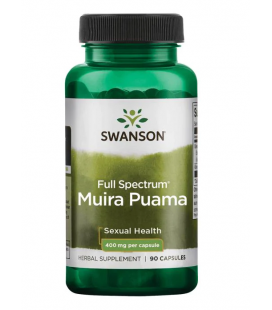 Swanson Full Spectrum Muira Puama Root 400mg 90caps