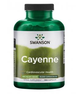 Swanson Cayenne 450mg 300caps