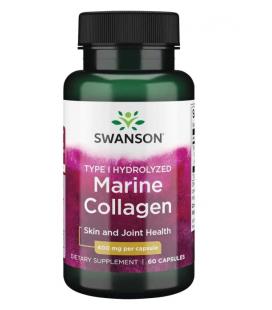 Swanson Marine Collagen Type I 400mg 60 kaps.