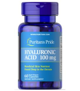 Puritans Pride Hyaluronic Acid 100mg 60caps