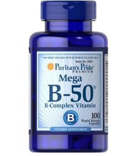 Puritans Pride Vitamin B-50 complex - 100caps