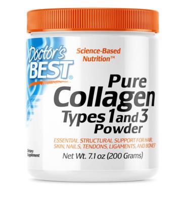 Doctor's Best Pure Collagen Kolagen typu I i III 200g