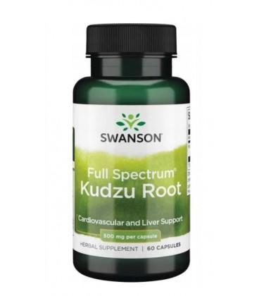 Swanson Kudzu Root 500mg 60 kapsułek