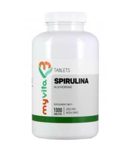 MyVita Spirulina Algi Morskie 250 mg 1000 tabletek