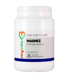 MyVita Magnez Cytrynian Magnezu 500g