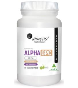 Aliness Alpha GPC 300mg 60vcaps.