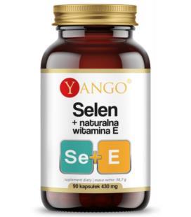 YANGO Selen + Naturalna Witamine E 90 kapsułek