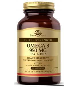 Solgar Omega 3 Potrójna Siła EPA/DHA 50 kaps.
