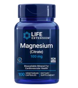 Life Extension Magnesium Citrate 100mg 100vcaps