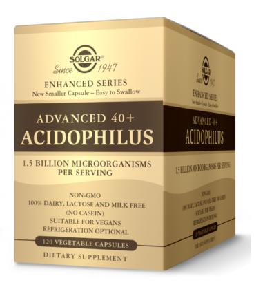 Solgar Advanced 40+ Acidophilus 120vcaps